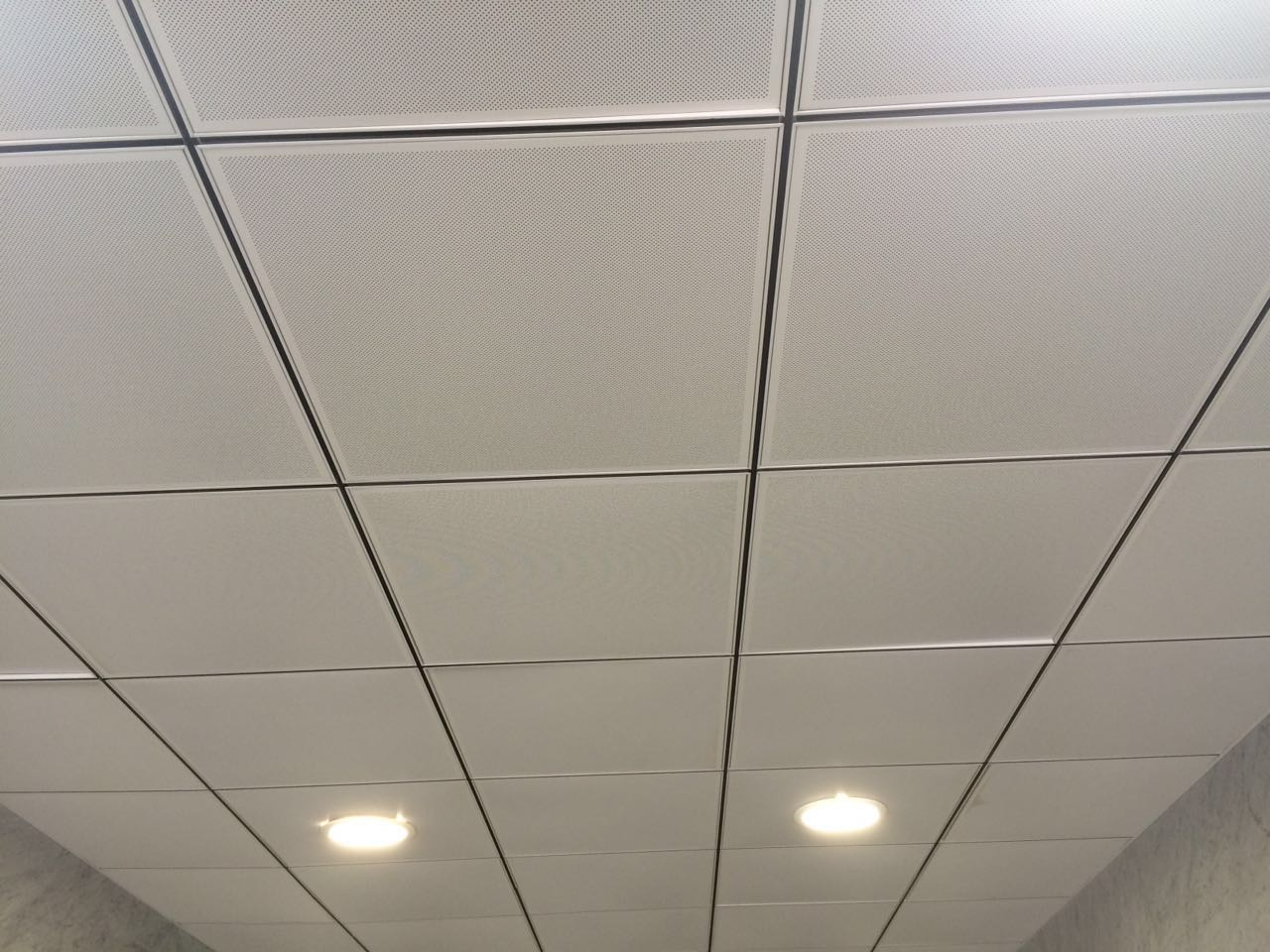 Gallery salco trading marketing alu lay in perforated ceiling tile dailygadgetfo Choice Image